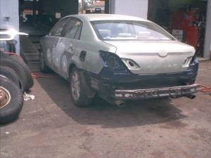 Body Repair Work at Modern Auto